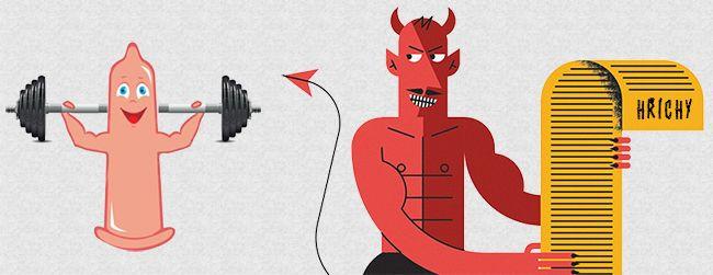 7 hříchů, kterých se u cviků na zvětšení penisu nedopouštějte