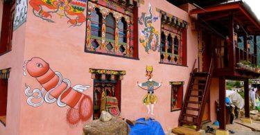Bhútánské království netradiční země kde penis uctívají - 1