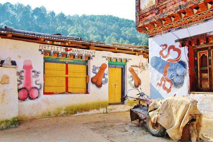 Bhútánské království: netradiční svět, kde je penis znakem moudrosti