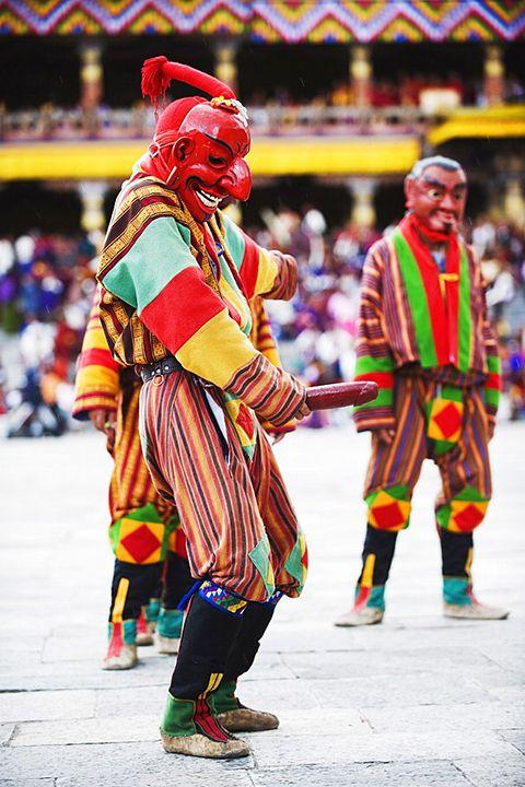 Bhútánské království netradiční země kde penis uctívají - 5