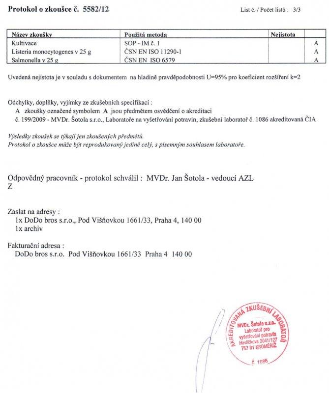 Andropharmia Vigor certifikát - 3