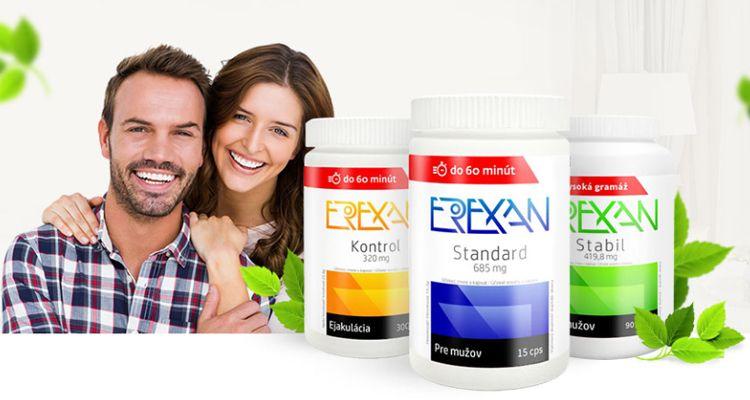 Erexan - Konečné přírodní a pořádná náhrada za Viagru