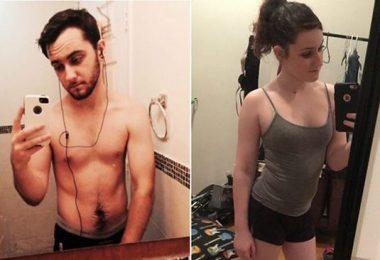 Holka s penisem - Před a PO, zvrhlý trend některých mužů