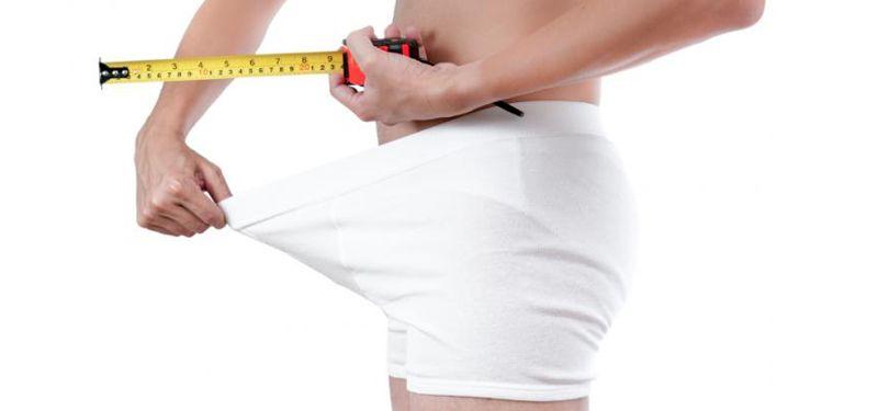 10 mylných způsobů pro odhad velikosti penisu